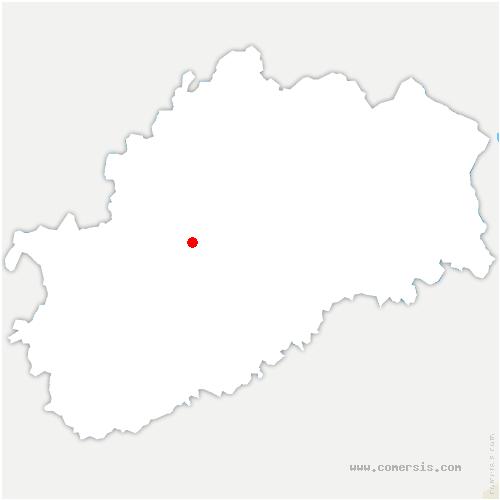 carte de localisation de Chantes