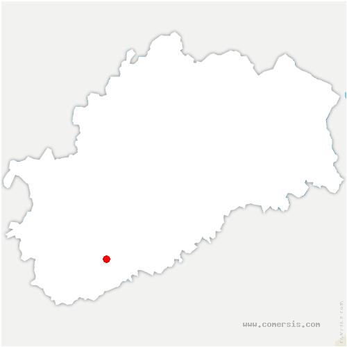 carte de localisation de Charcenne