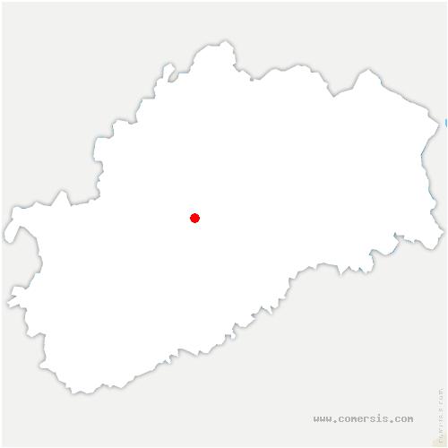 carte de localisation de Chassey-lès-Scey