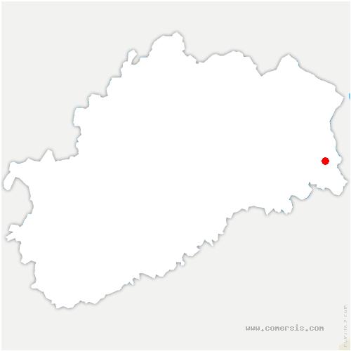 carte de localisation de Chenebier