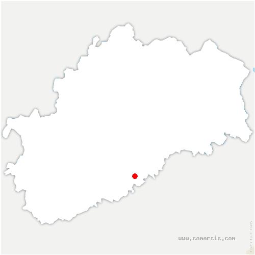 carte de localisation de Cirey