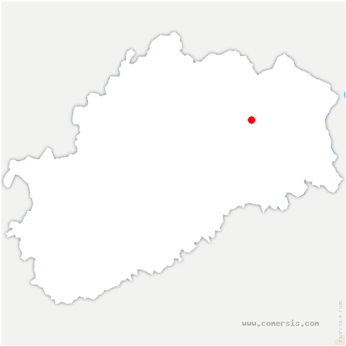 carte de localisation de Citers