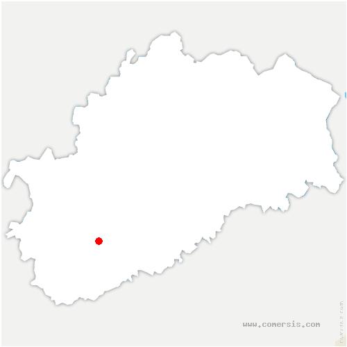carte de localisation de Citey