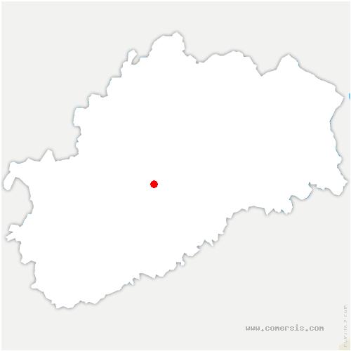 carte de localisation de Clans