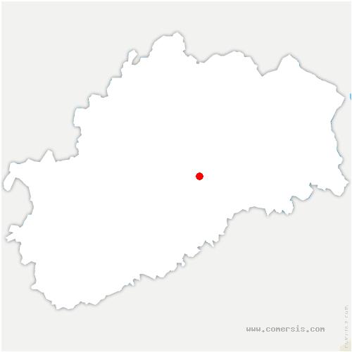 carte de localisation de Colombe-lès-Vesoul