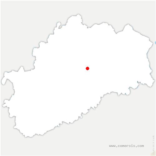 carte de localisation de Colombier
