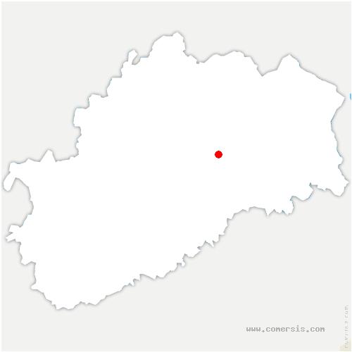 carte de localisation de Colombotte