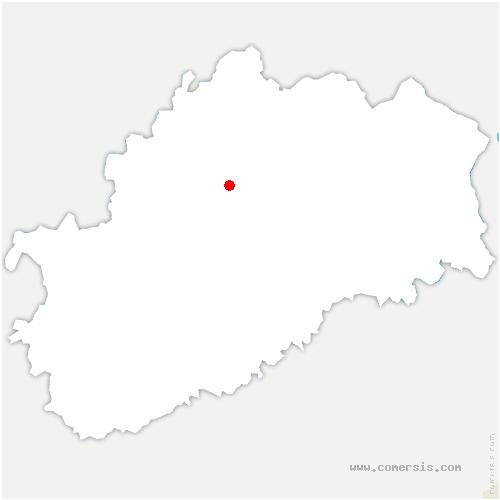 carte de localisation de Conflandey