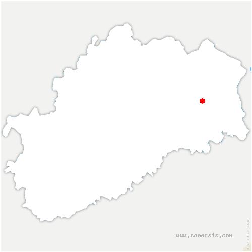 carte de localisation de Côte