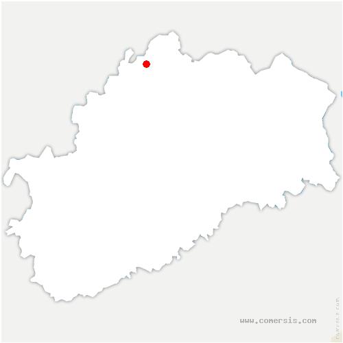 carte de localisation de Demangevelle