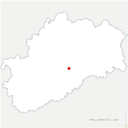 carte de localisation de Demie