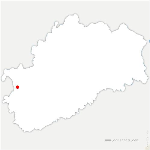 carte de localisation de Écuelle