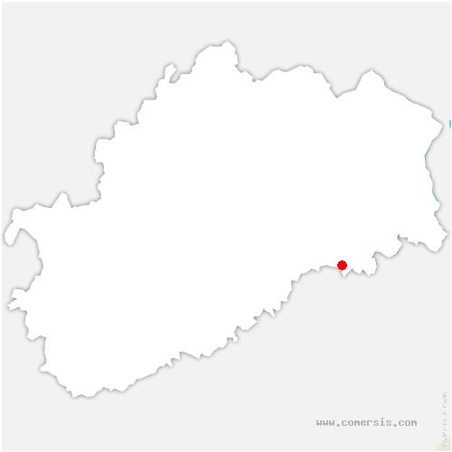 carte de localisation de Fallon