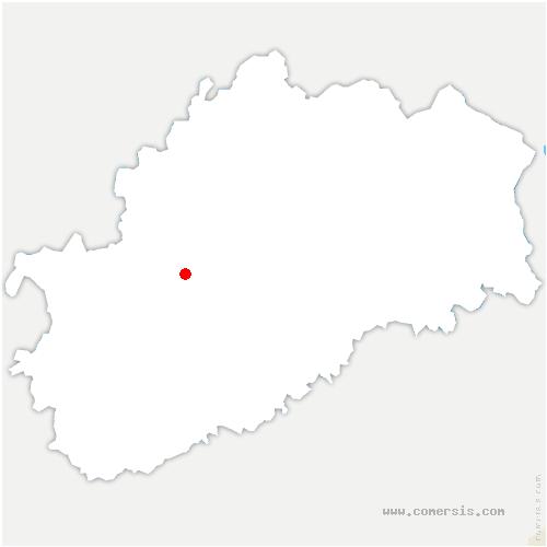 carte de localisation de Fédry