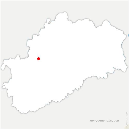 carte de localisation de Fleurey-lès-Lavoncourt