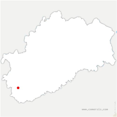 carte de localisation de Germigney