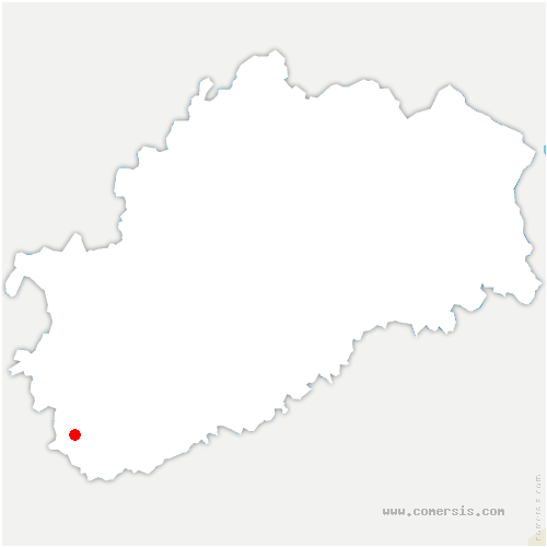 carte de localisation de Grande-Résie
