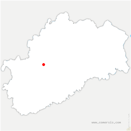 carte de localisation de Grandecourt