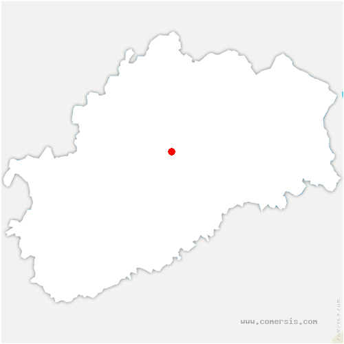 carte de localisation de Grattery