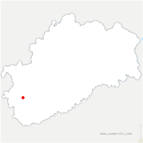 carte de localisation de Gray