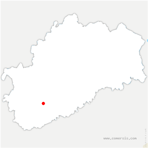 carte de localisation de Gy
