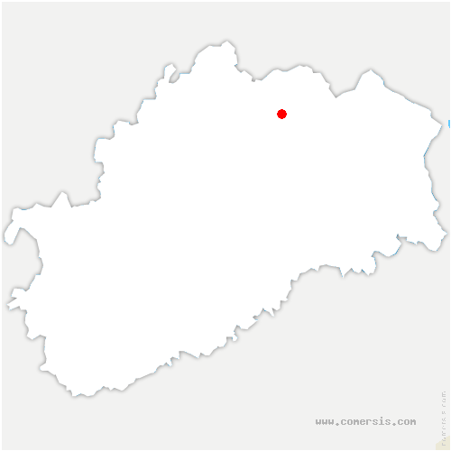 carte de localisation de Hautevelle