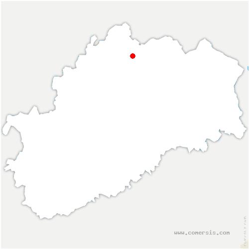 carte de localisation de Jasney