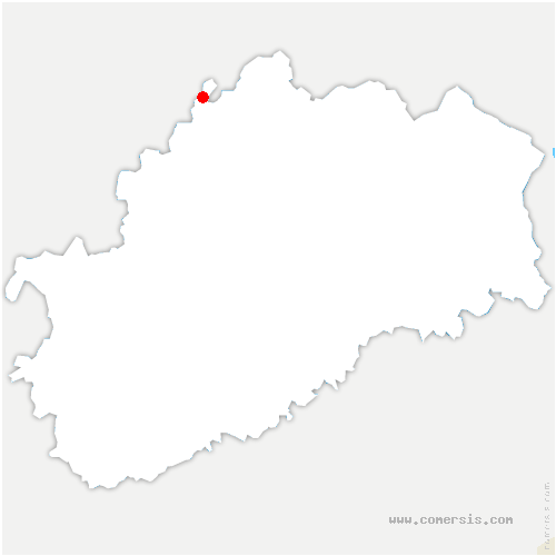 carte de localisation de Jonvelle