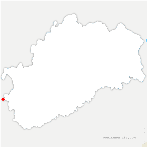 carte de localisation de Lœuilley