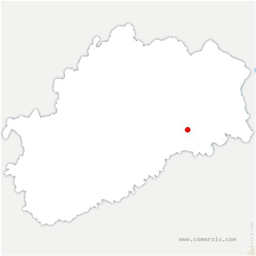 carte de localisation de Longevelle