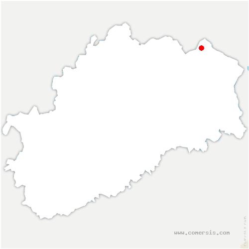 carte de localisation de Longine