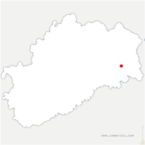 carte de localisation de Lyoffans