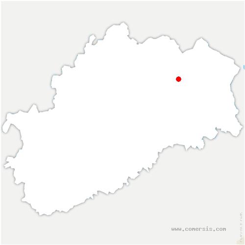 carte de localisation de Magnivray