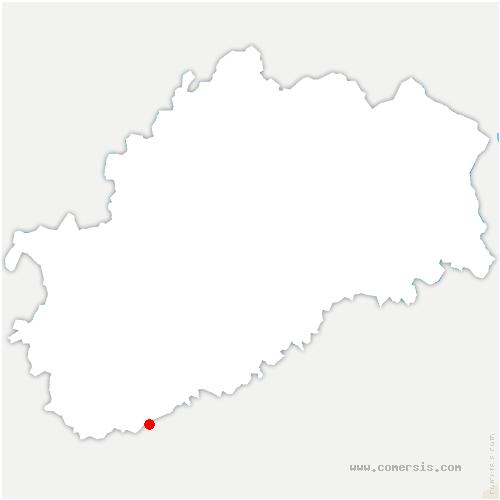 carte de localisation de Marnay