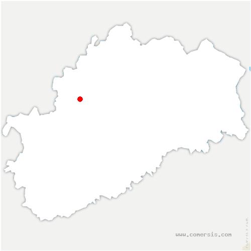 carte de localisation de Melin
