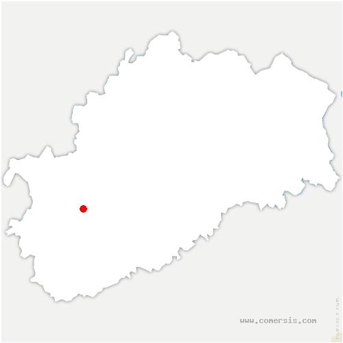carte de localisation de Mercey-sur-Saône