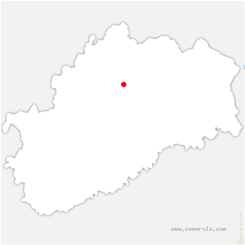 carte de localisation de Mersuay