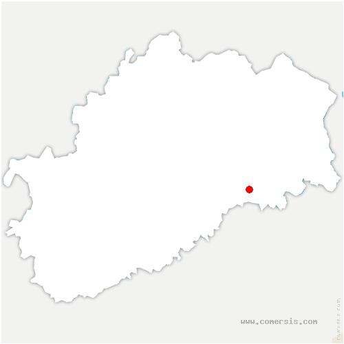 carte de localisation de Moimay