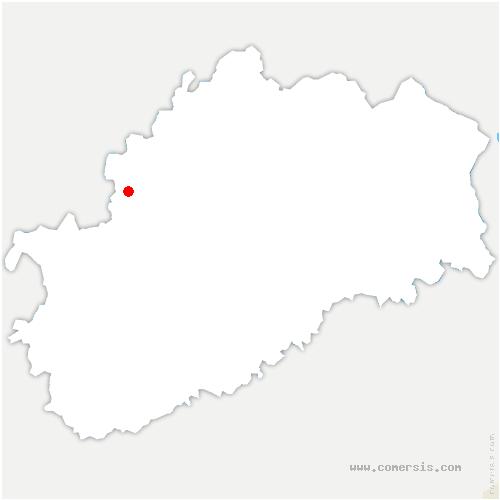 carte de localisation de Molay