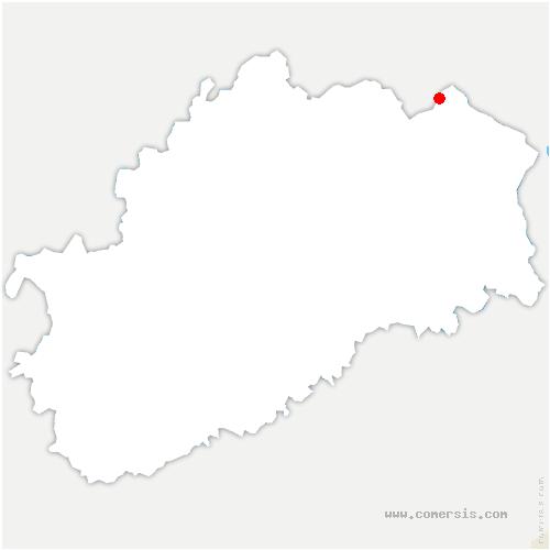 carte de localisation de Montagne