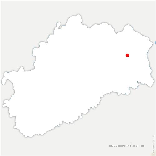 carte de localisation de Montessaux