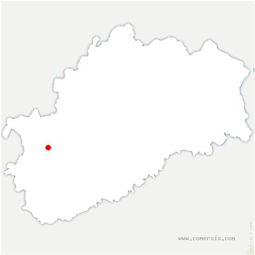 carte de localisation de Montot