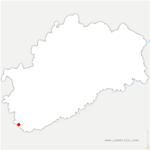 carte de localisation de Pesmes