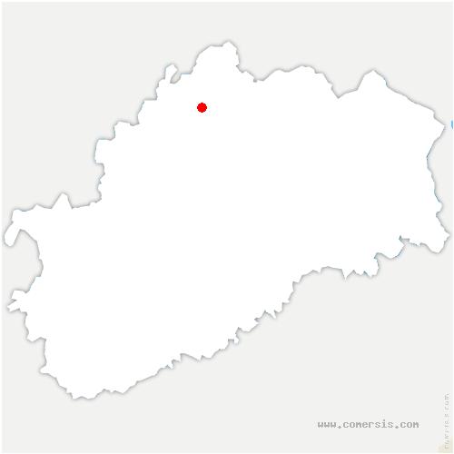 carte de localisation de Polaincourt-et-Clairefontaine