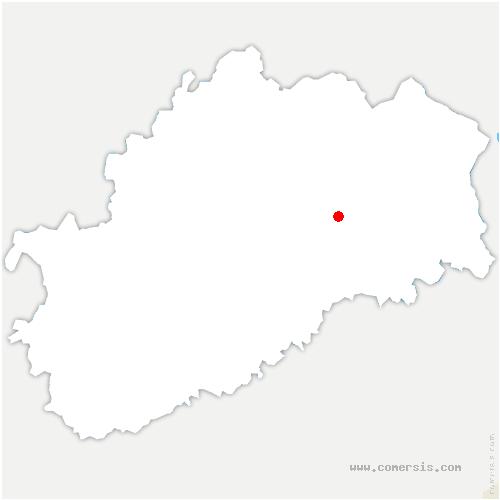 carte de localisation de Pomoy