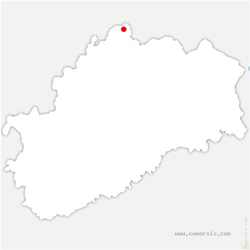 carte de localisation de Pont-du-Bois