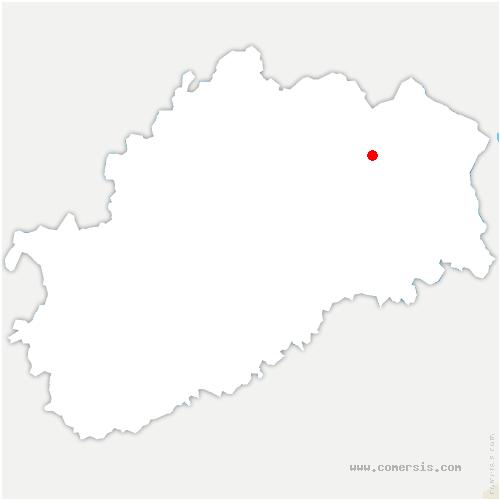 carte de localisation de Proiselière-et-Langle
