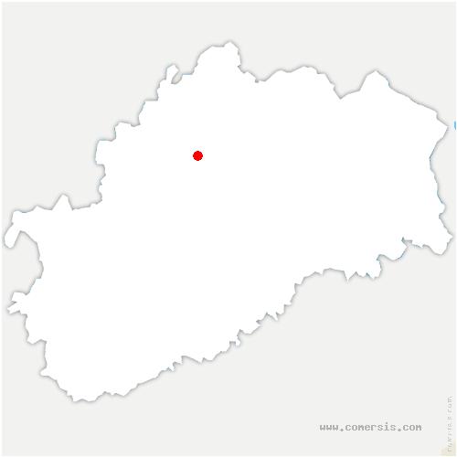carte de localisation de Purgerot