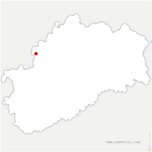 carte de localisation de Quarte
