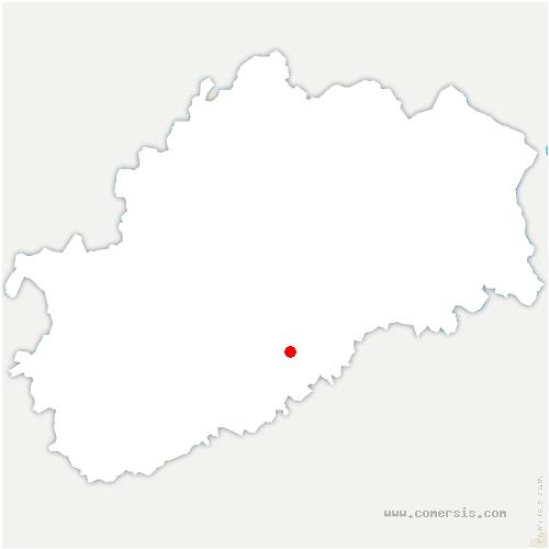 carte de localisation de Quenoche